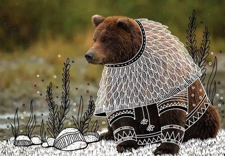 印度艺术家为动物设计服装:犀牛秒变小公主,酋长狮子最帅气
