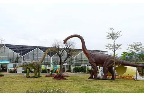 """惠州新开了个现实里的""""侏罗纪公园"""",这个假期就带娃踏青游"""