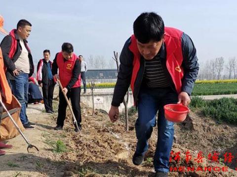 弘扬雷锋精神 叶县党群志愿服务在行动