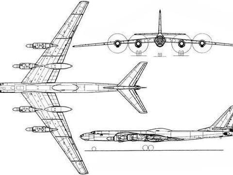 """苏维埃之末日轰炸机—图-119""""燕子""""核动力战略轰炸机"""