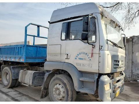 东方红也生产过卡车你知道吗?带您见识一辆早期生产的M系牵引车
