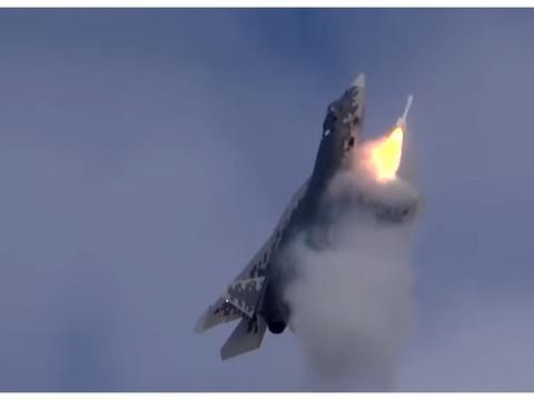 美战机携带核弹,意图威胁俄罗斯?苏-57强势出击,导弹发射警告