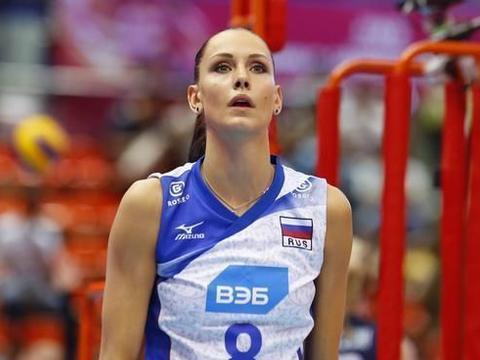 俄罗斯美女主攻——冈察洛娃美到无法抗拒