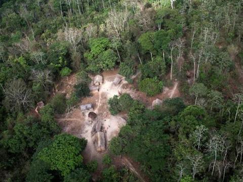 巴西最后的原始部落,人类母乳喂养动物,40岁的女人必须离开部落