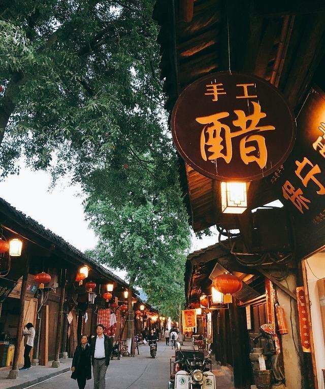美丽的阆中古城,美丽的叫人信展,让人舒心