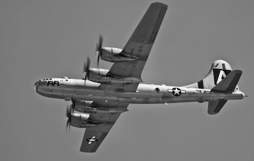 最成功的杰作,二战期间美国研发的战略轰炸机,B-29超级空中堡垒