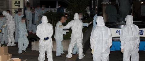 韩国大邱一精神病医院暴发疫情,133人感染