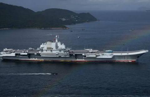 中国双航母编队成形后,一支舰队浮出水面,没有055也没有052