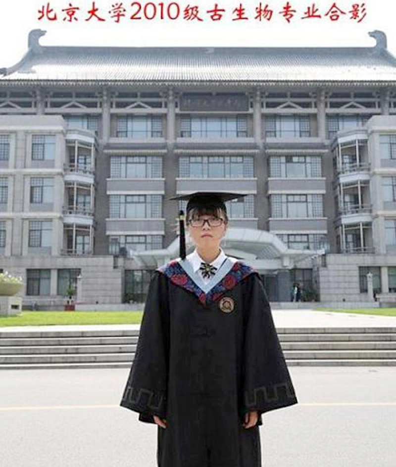 """一人健康、全系无恙!北大""""最孤独""""专业,年年是一个人的毕业照"""
