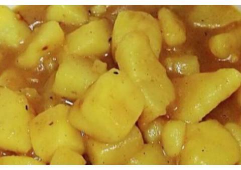 美食推荐:蒜香苦瓜拌虾、咖喱烧土豆、萝卜干炖肉、芹菜炒藕片