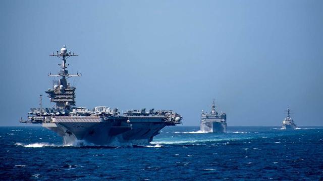 美舰机连日在台湾海峡炫耀武力,专家紧急提醒:亚太美军已瘫痪