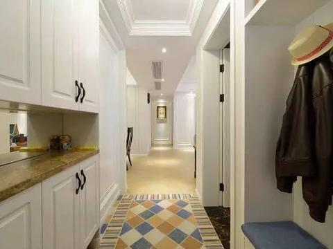 去参观邻居家的房子,进门一看他家鞋柜这样装,真是漂亮又实用!