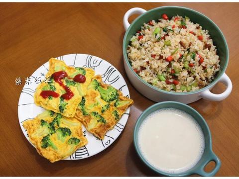 20分钟省心早餐,肉菜蛋齐全,营养好吃,适合忙碌的上班族