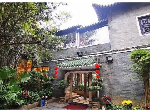 广州老字号传统园林酒家——南园酒家,叹早茶,古香古色甚怡人