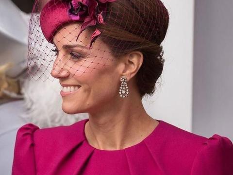 美发配帽子!凯特王妃魅力细节分享,诠释王妃真气质