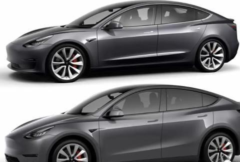 特斯拉Model Y对比Model3速览