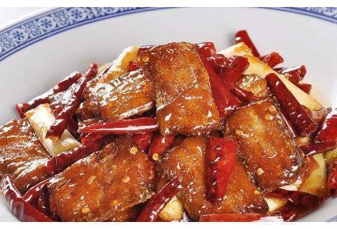 美食推荐:干煸带鱼,豆角炒肉丝,糖醋素里脊,鸡蛋豆腐