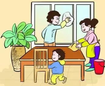 """害怕孩子长大懒惰?父母坚持""""5步走"""",让娃养成做家务的好习惯"""