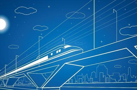 我国建设的一条高铁线,途经3省1市,将组成沿江高速铁路网