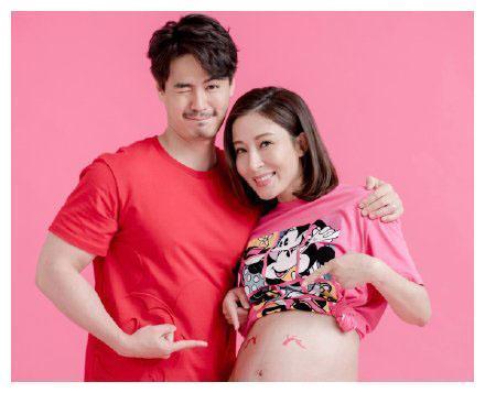 TVB当家花旦杨怡公布怀孕喜事,40岁的高龄产妇气质依旧大方