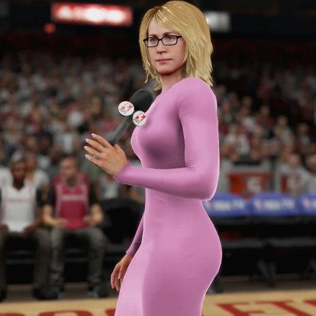 难过!第一美女记者确诊新冠!Drake公开示爱!打2K的都认识她