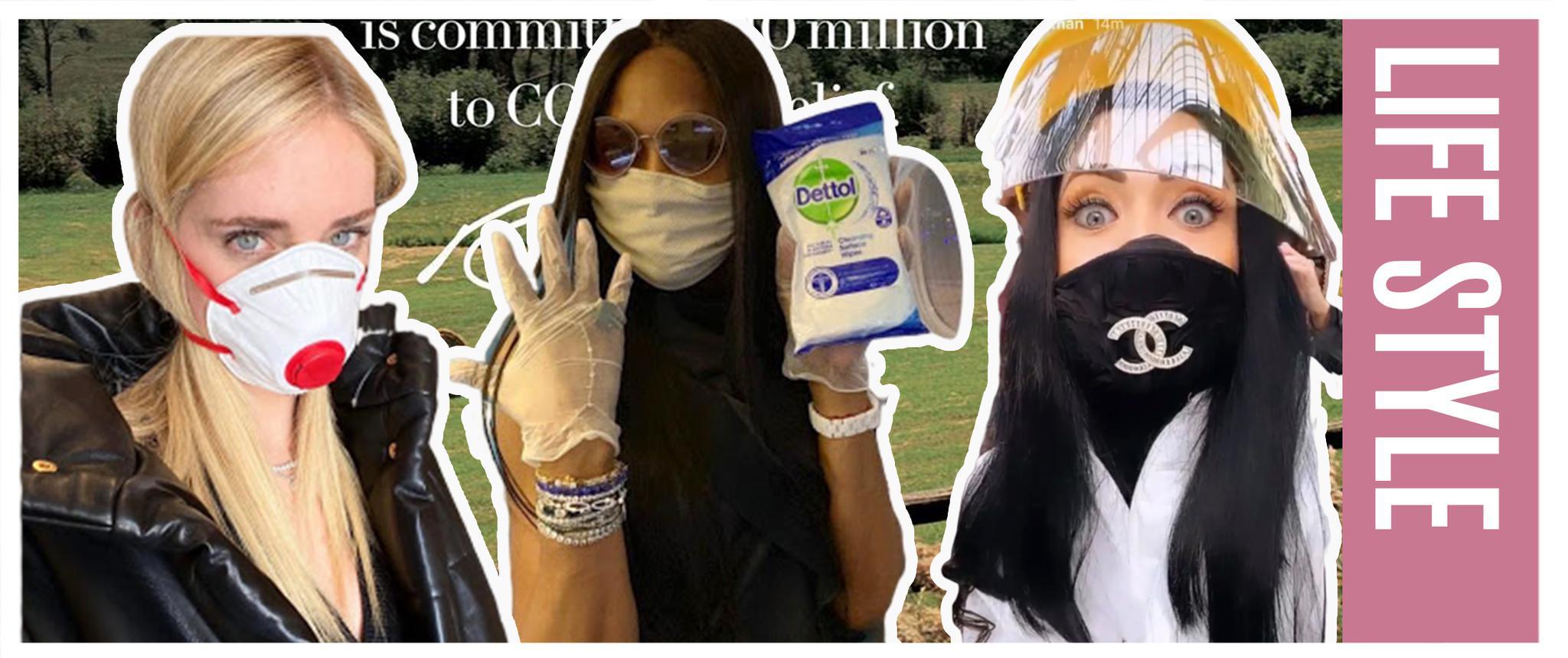 好想拥有CHANEL口罩和BVLGARI洗手凝胶!
