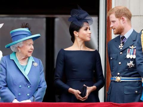 """梅根和哈里王子搬到洛杉矶,让英国女王""""非常失望""""?"""