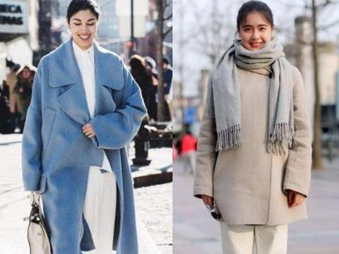 女人冬天穿阔腿裤,尽量避开3个误区,难看不说,还容易显胖!