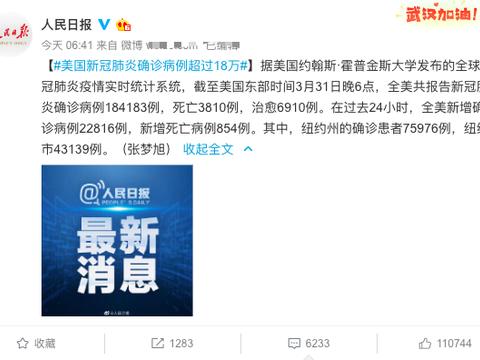 美国18万人患病拖全世界后腿,世界冠军感叹:中国人永远是好朋友