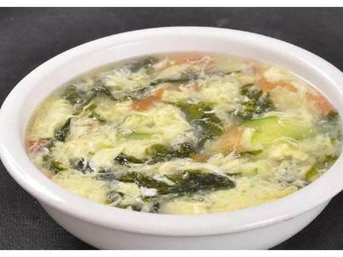 营养早餐紫菜鸡蛋汤:制作简单而且营养丰富,适合上班一族