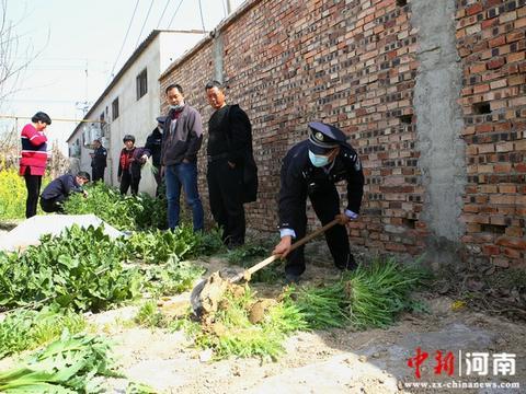 鄢陵县公安局局长刘延召带队开展2020年禁种铲毒踏查集中行动