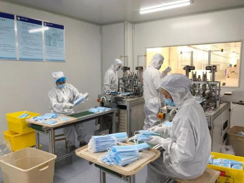 银鸽投资公司生产的一次性使用医用口罩获得FDA认证和CE认证