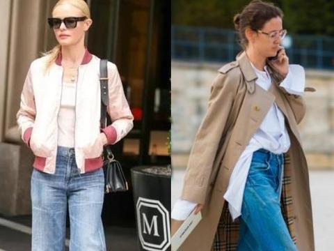 冬天穿牛仔裤的3个误区,有些女人没注意,难怪显得腿又粗又短!