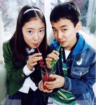 14年前就合作过,俞承豪李世荣童星时期,超萌合照曝光