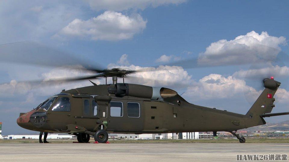 """土耳其首架T-70""""黑鹰""""通用直升机即将试飞 座舱仪表板曝光"""