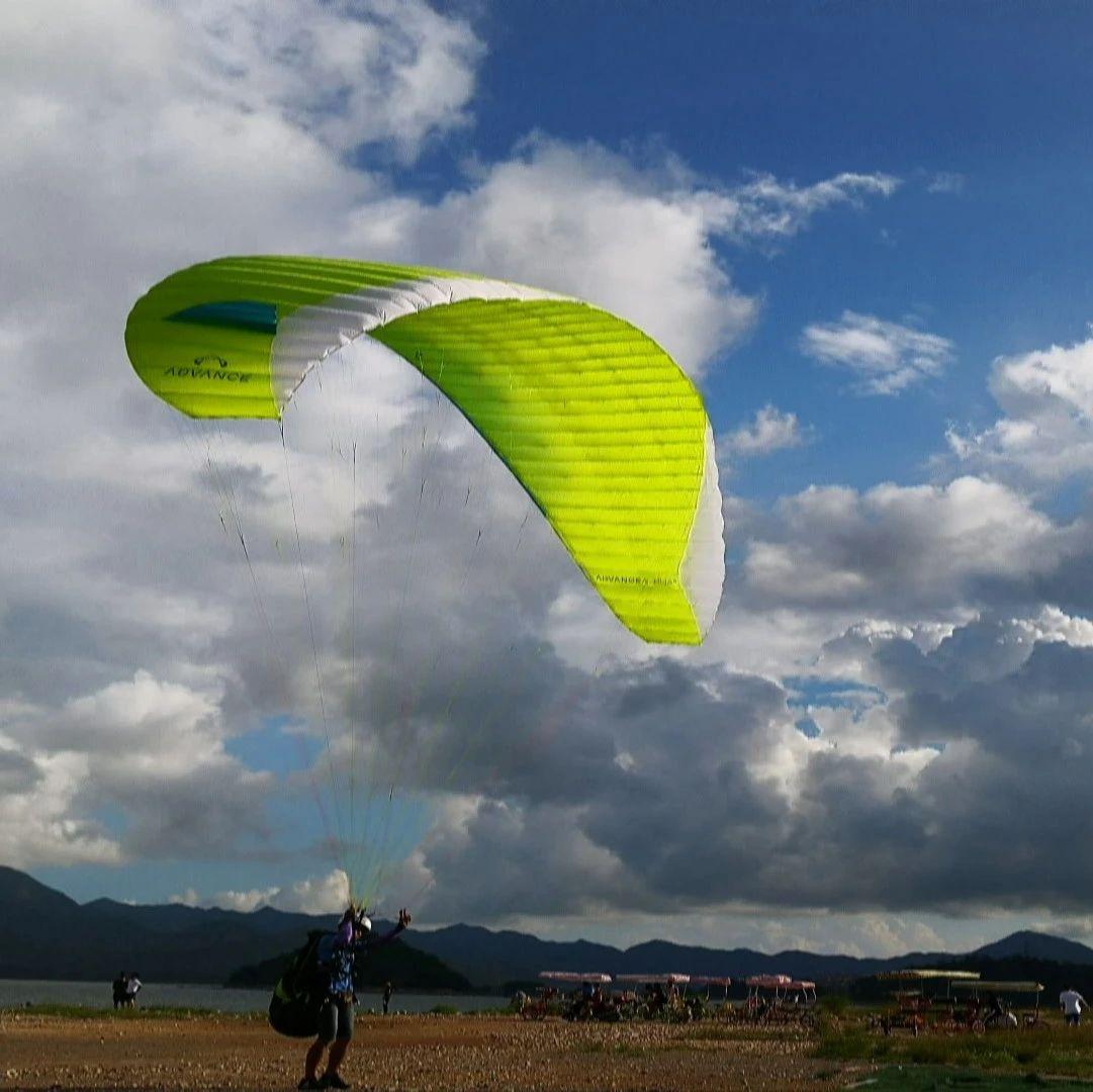万州首个滑翔伞项目基地动工修建!5月1号完工试飞