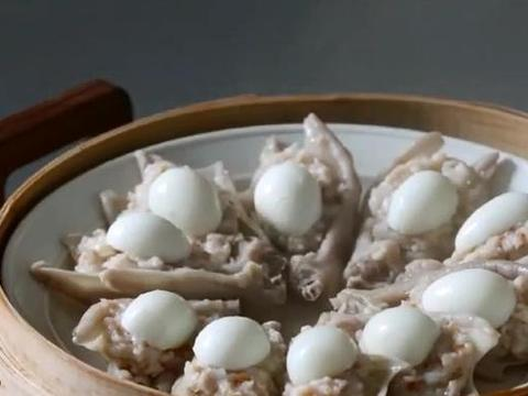 教你做安徽名菜掌上明珠:掌白珠明,好吃又好看,馋的人直流口水