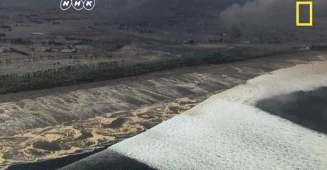 日本预测28米海啸,黄石公园超级火山蠢蠢欲动