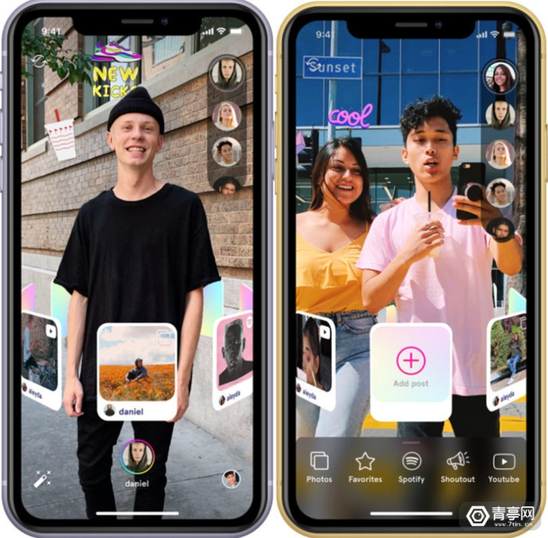 Snapchat进一步开放,故事模式兼容第三方AR应用Octi