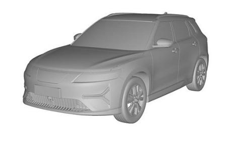 恒大首款SUV恒驰1曝光,外观十分相似路虎将于今年4月份首发
