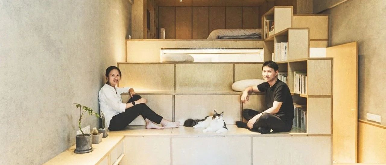 杭州夫妻买下40㎡破房,挖空地板造房中房,有
