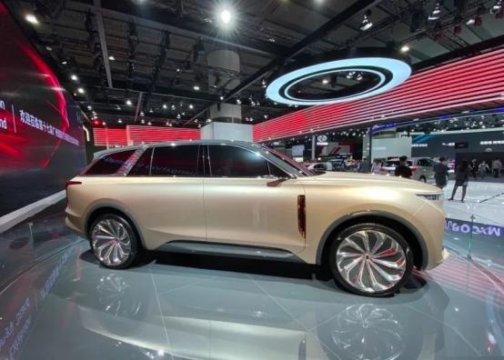 红旗E115概念车年内将量产 采用最新家族式设计语言