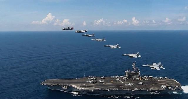 美军一艘航母200人感染,舰长发公开信:别让我们无辜送命