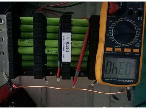 纯电动汽车亮高压电池包故障灯维修