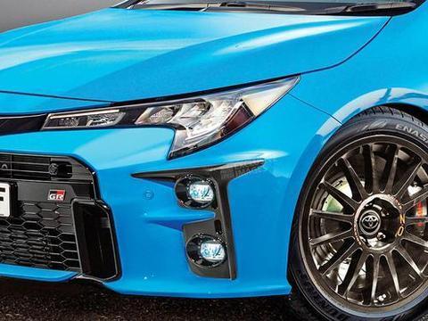 丰田卡罗拉性能版效果图曝光 将推多款新能源车