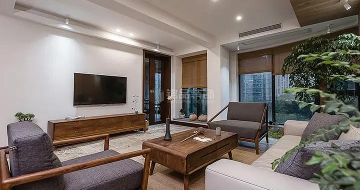 158平米的其他风装修,这套四居室简直就是让人宁静的心灵港湾-临安宝龙广场装修