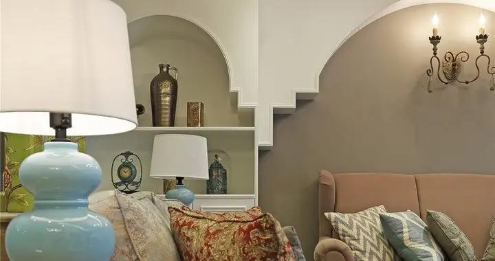 141平米的房子半包装修多少钱?现代风格四居室设计说明!-金科天宸装修