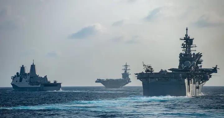 """百人确诊!罗斯福号航母被封关岛,誓言""""绝不把病毒带回美国本土"""""""