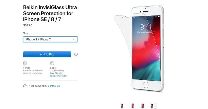苹果官网上架新iPhone贴膜 新品马上来