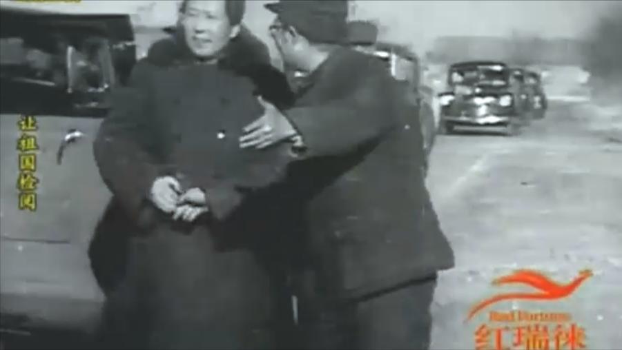 1949年毛主席阅兵,叶剑英第一个走向前迎接